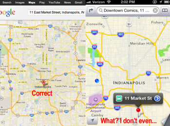 How long will iOS users suffer with Apple Maps before Google arrives?