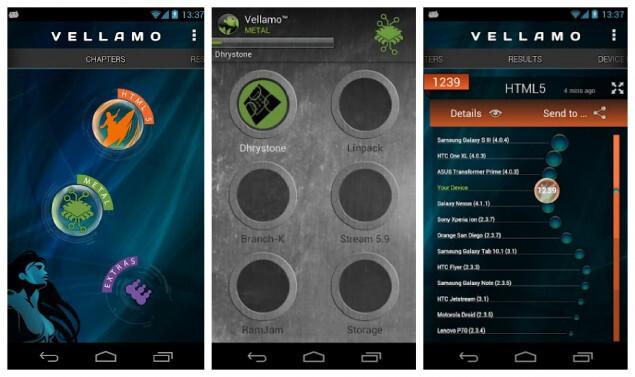 Qualcomm overhauls Vellamo benchmark with CPU and memory tests