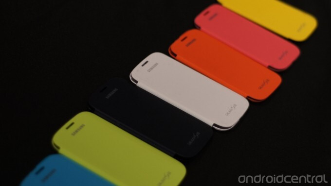 Samsung will bundle four Flip Covers for $100 - Samsung Flip Covers to come bundled for the holiday season; four colors will cost you $100