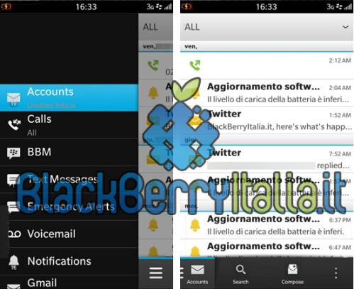 BlackBerry 10 Leaked Screenshots