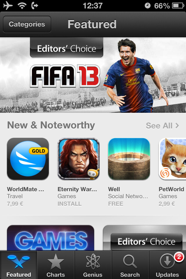 Open the App Store