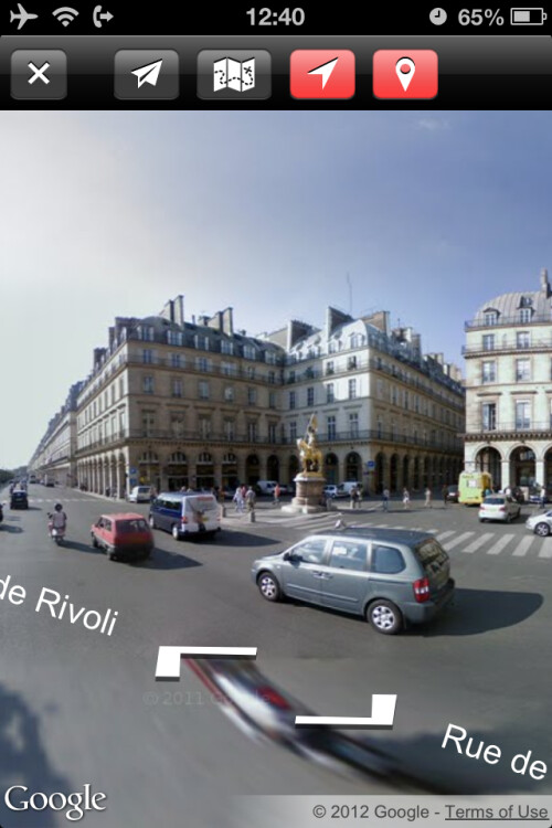 Live Street View tips