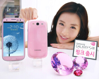 Samsung Galaxy S III in Martian Pink