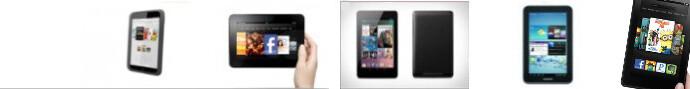 Barnes & Noble Nook HD vs Amazon Kindle Fire vs Nexus 7: spec comparison