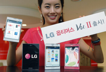 LG Optimus Vu II official: faster, with VoLTE, IR blaster and One Key fob for your keychain