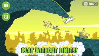 Bad Piggies is now available on iPhone, iPad and Android