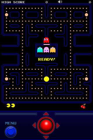 Old Fashion Games Like Pac Man