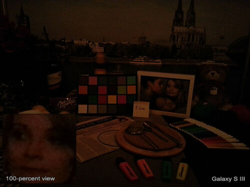 Nokia Lumia 920 vs iPhone 5 vs Galaxy S III vs HTC One X low-light comparison