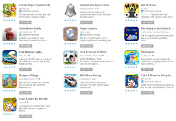 Another round of 25 cent apps hits the Play Store