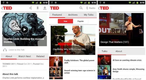 Bonus app: TED