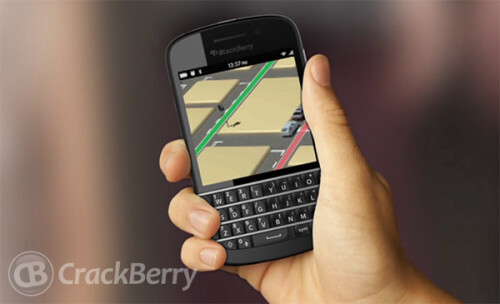 Alleged images of first BlackBerry 10 devices