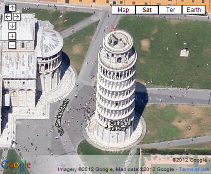 Updated Google Maps high-res imagery