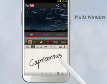 Multi-task on the Samsung GALAXY Note II with the multiwindow feature