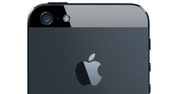 The camera on the Apple iPhone 5