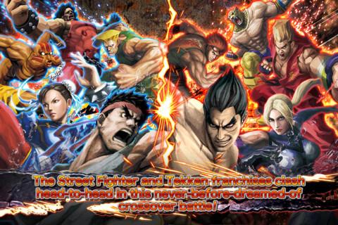 Street Fighter X Tekken Mobile - iOS - $2.99