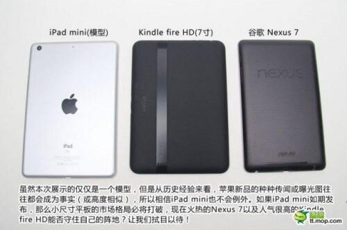 iPad Mini comparison