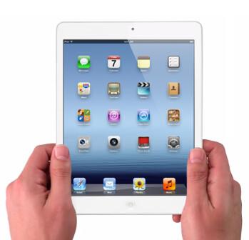 Mockup of the Apple iPad mini