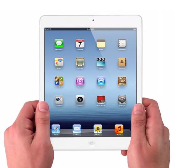 Mockup of the Apple iPad mini - Apple iPad mini starting production in Brazil?