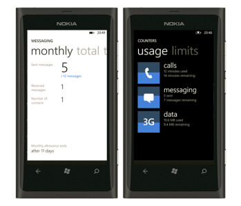Nokia Counters app will help you keep track of your calls, messaging and data usage