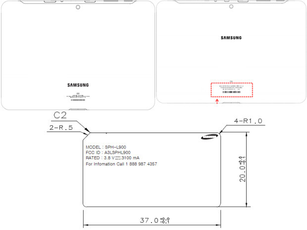 Three Samsung devices met the FCC - FCC welcomes Sprint variant of the Samsung GALAXY Note II and more