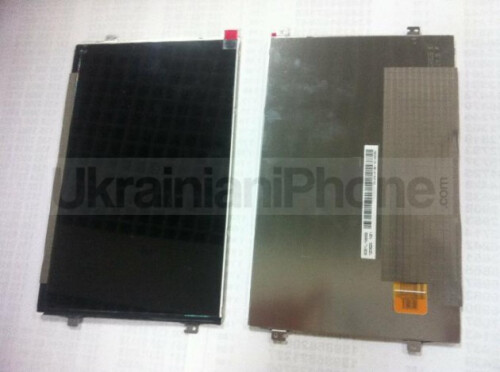 iPad mini surfaces in black