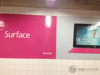 Microsoft Surface ads appear in NYC's Grand Central Station