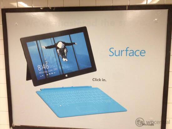 Ads for Microsoft's Windows 8 tablets have begun to surface - Microsoft places ads for Surface tablet inside Grand Central Station