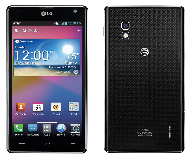 AT&T version of the LG Optimus G - LG Optimus G coming to Sprint and AT&T