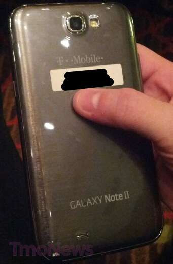 T-Mobile version of the Samsung Galaxy Note II