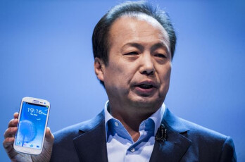 Samsung's J.K. Shin expects 20 million units of the Samsung GALAXY Note II to be sold