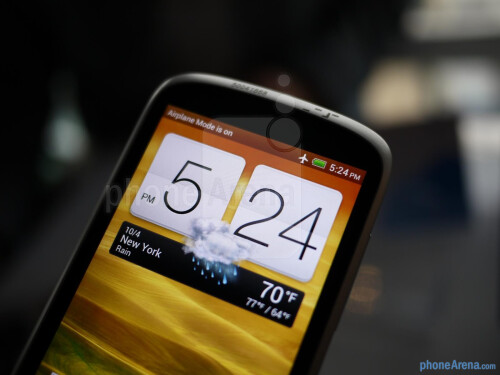 """Large display for a handset deemed as """"budget-oriented"""""""