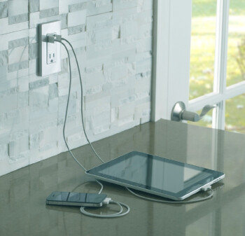 Leviton introduces in-wall USB charger for phones and tablets
