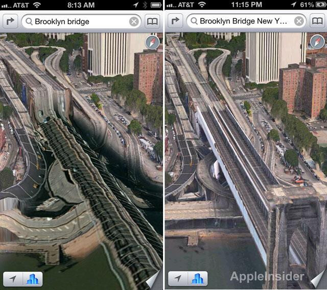 Apple Maps already showing signs of improvement