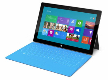 The Microsoft Surface Windows RT tablet