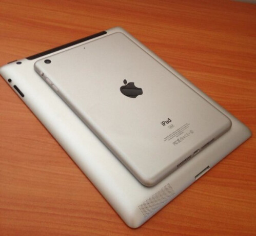 Pictures allegedly of the Apple iPad mini