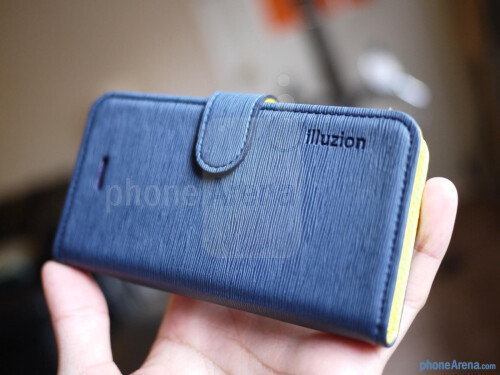 Spigen Illuzion Series Leather Case
