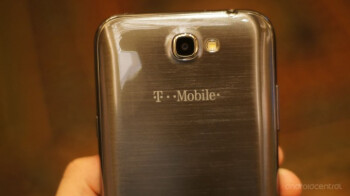The T-Mobile variant of the Samsung GALAXY Note II, photo courtesy Android Central