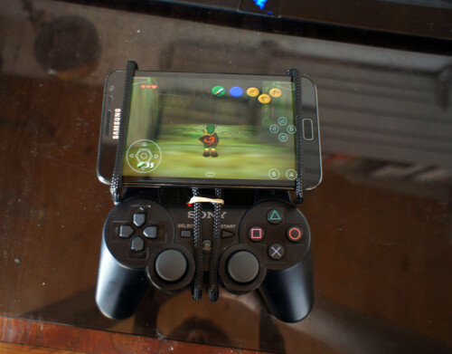 Use a Sixaxis controller to play games