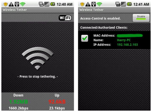 Use Wi-Fi hotspot for free
