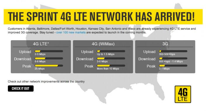 Sprint getting LG Optimus G, Samsung Galaxy Tab 2 and LG Mach in its Android 4G LTE fleet