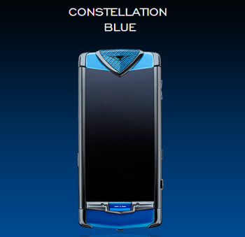 Vertu Constellation Blue and Constellation Quest Blue are unveiled, look pretty