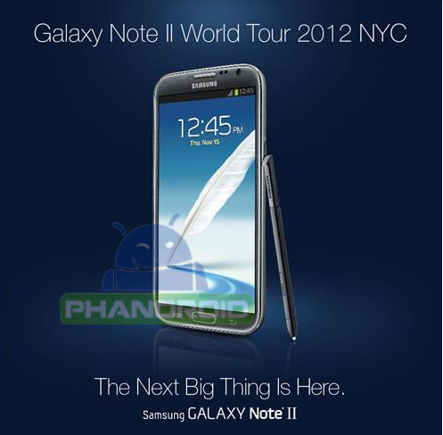 The Next Big Thing is already known - Samsung confirms October 24th introduction of the Samsung GALAXY Note II