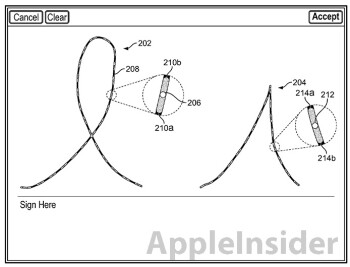 The two patents deal with digital handwriting capture (L) and extraneous touch inputs