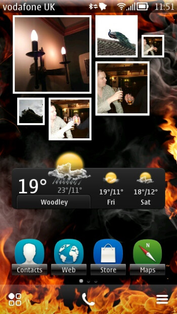 "Satirical ""Burning Platform"" theme for Nokia Symbian gets a million downloads"