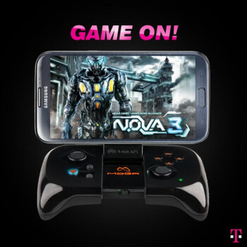 T-Mobile teases MOGA Gaming System for Android phones, Note II comes with an optimized game
