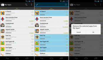 """Google Play updated to allow removal of apps on """"All"""" list"""