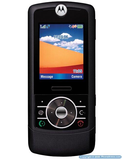 Motorola RIZR - a thin slider phone