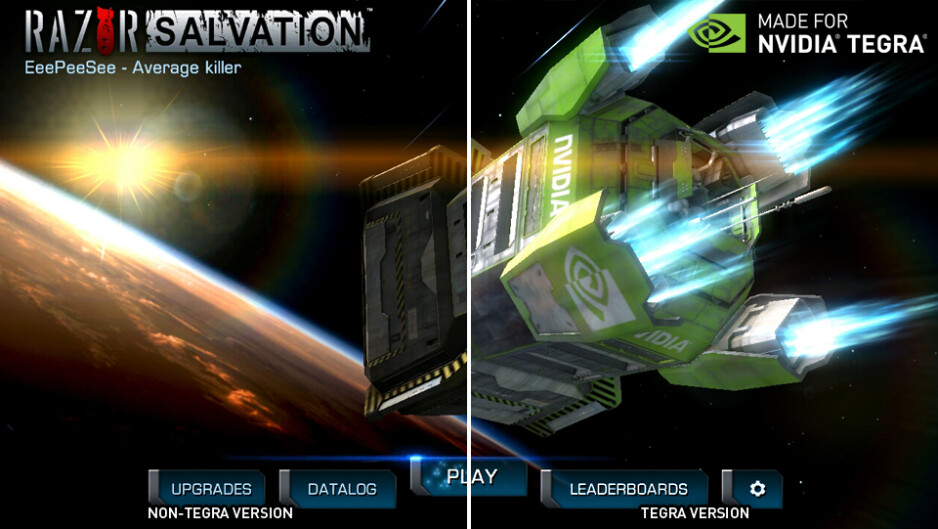 Razor Salvation for Tegra smartphones and tablets - Sumioni and Razor Salvation land at the Tegra Zone
