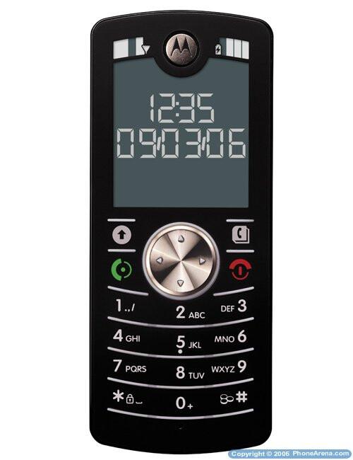 Motorola's new slim handset - MOTOFONE F3