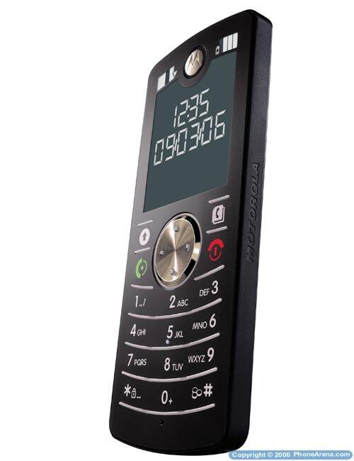 Motorola's new slim handset